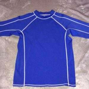 Blue Boys Quick-Dry T-Shirt